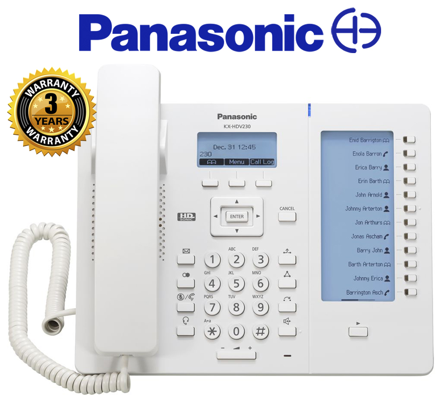 Panasonic 6 Line Sip Phone W Self End 11 18 2018 10 15 Am
